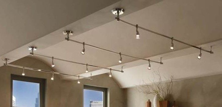Office Track Lighting Low Profile And Minimal Home