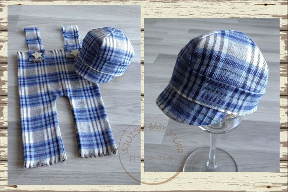 READY TO SHIP Newborn  Baby Pants and Oxford by SquishyBabyStuff, $37.00
