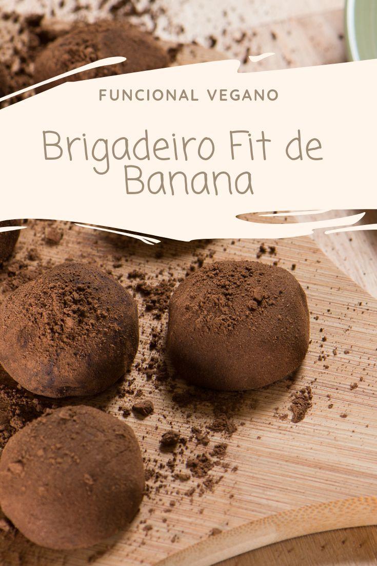 Brigadeiro Fit de Banana ● Funcional Vegano – low carb