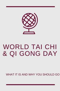 World Tai Chi Day (April 28th 2018) 10-12 local time - what is this all about and why should you go? #taichi #taichichuan #taiji #taijiquan #qigong #worldtaichiday #wtcqgd
