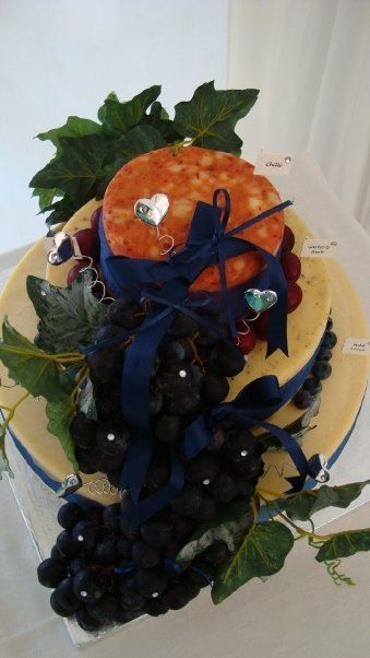 Decorated cheese cake, shorrocks cheese, lancashire cheese