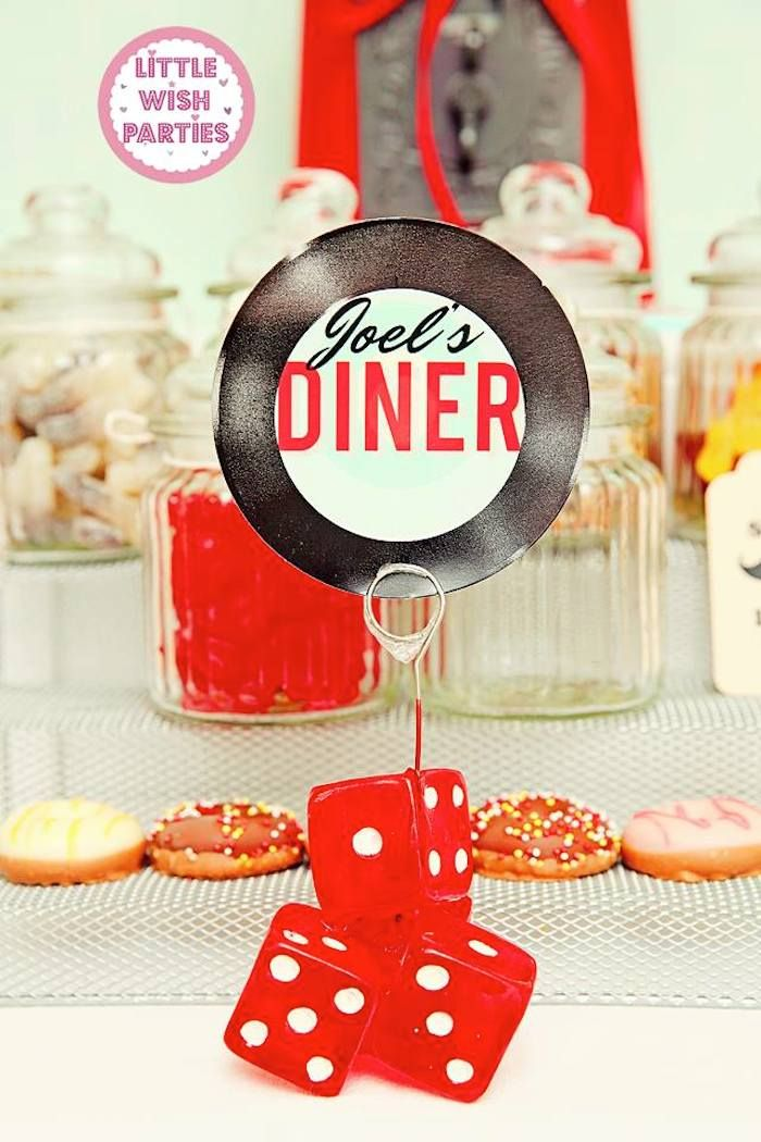 1000 ideas about 50s party themes on pinterest sock hop sock hop party and diner party - Rock and roll theme party decorations ...