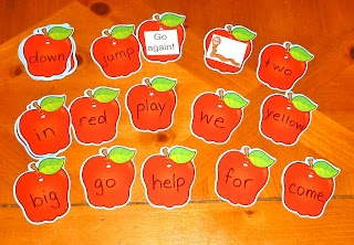 Mom to 2 Posh Lil Divas: Rotten Apple! A Sight Word Learning