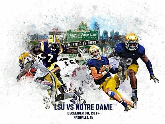 Who's ready for the big Bowl game today??? GO IRISH