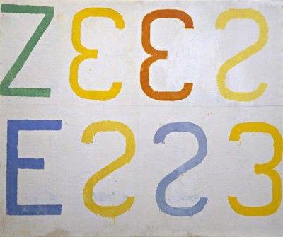 Jannis Kounellis, Senza titolo (1961) collezione Maramotti