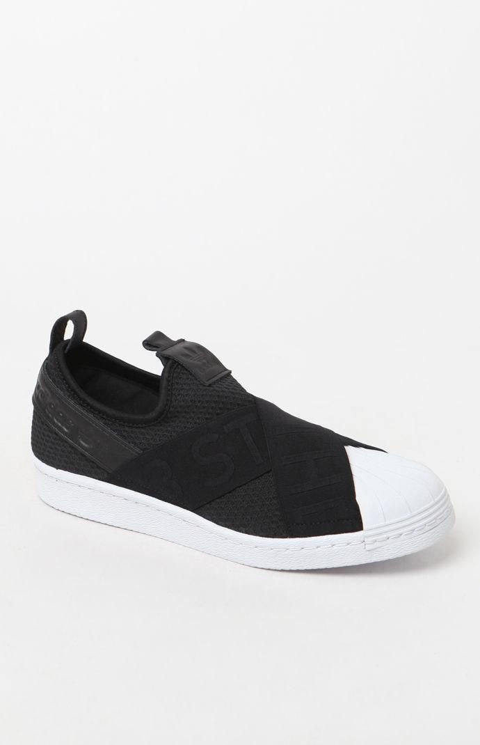 adidas Women s Superstar Slip-On Sneakers at PacSun.com 7acb413e88