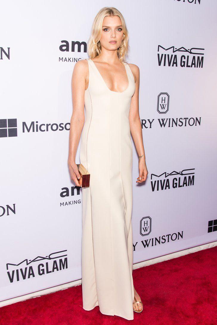 Pin for Later: Die 5 besten Looks der amfAR Gala — welcher ist euer Favorit? Lily Donaldson