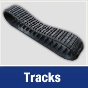 Track Pads & Buckets - Specialists in rubber tracks since the introduction of the mini digger, Track Pads & Buckets can advise you on the rubber tracks you need for your excavator.