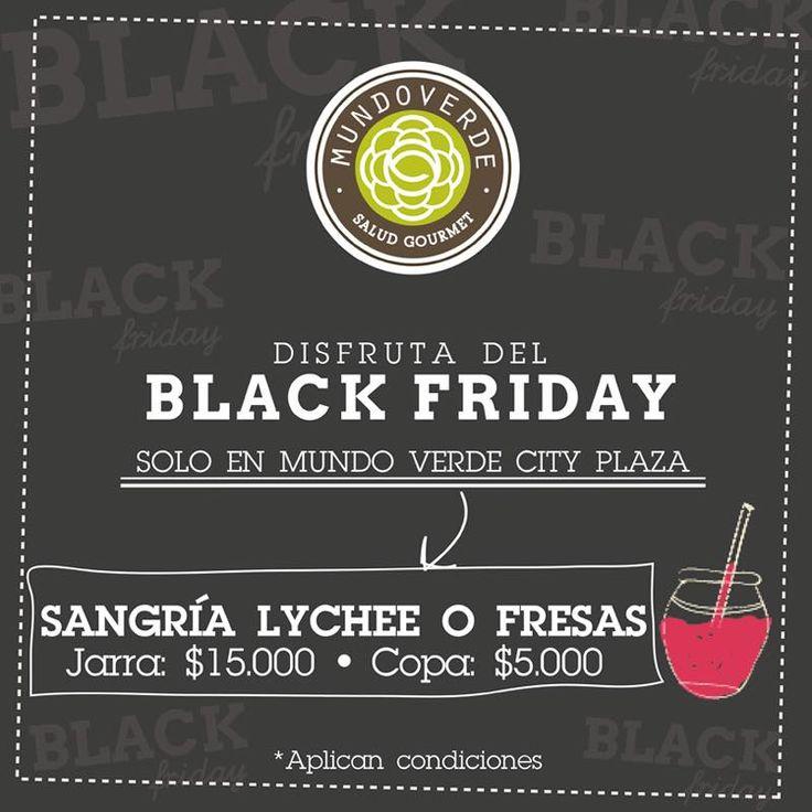 Mañana #BlackFriday en Mundo Verde Cityplaza.Centro Comercial para que celebres como debe ser. ¡Te esperamos!