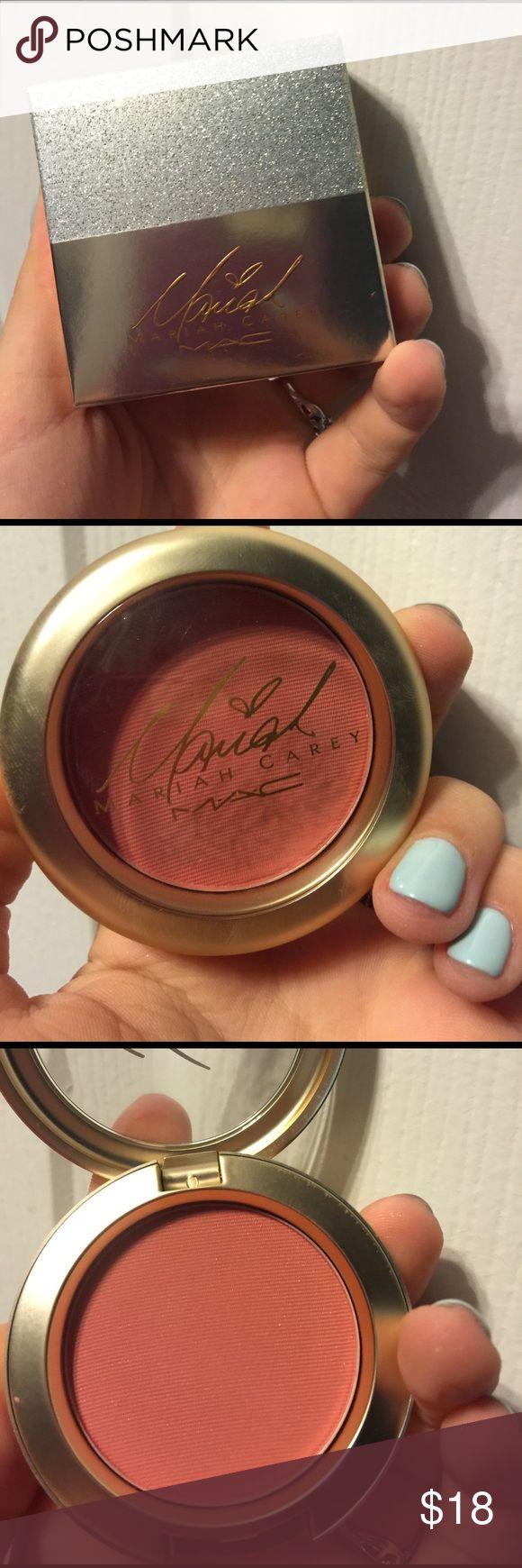 "Limited edition Mariah Carey Mac blush. Brand new blush. Shade name ""Sweet Sweet Fantasy"" MAC Cosmetics Makeup Blush"