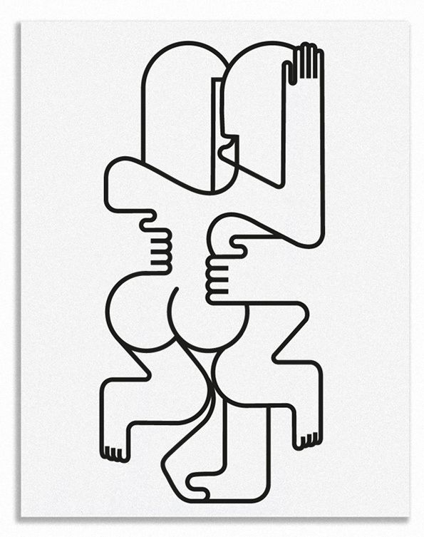 Into the Line by Jonathan Calugi