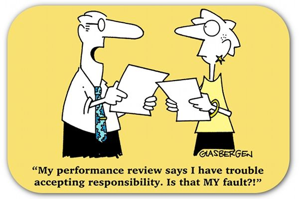 writing job performance reviews
