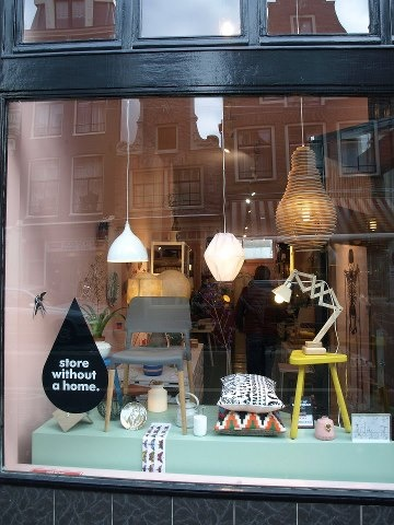 Store Without A Home at Haarlemmerstraat - Amsterdam #design #boutique