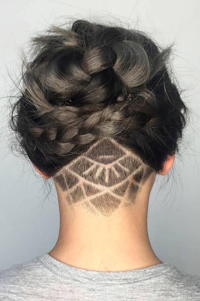 Long Hair For Undercut : Best 25 undercut hairstyles women ideas on pinterest