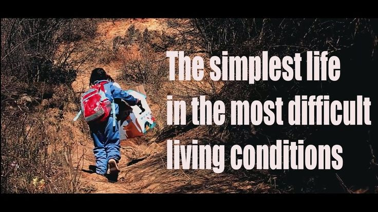 [Children] The simplest life in the most difficult living conditions | M...