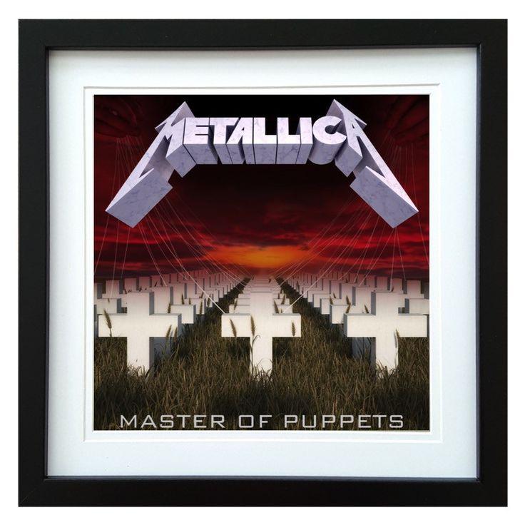 Metallica | Master Of Puppets Album | ArtRockStore