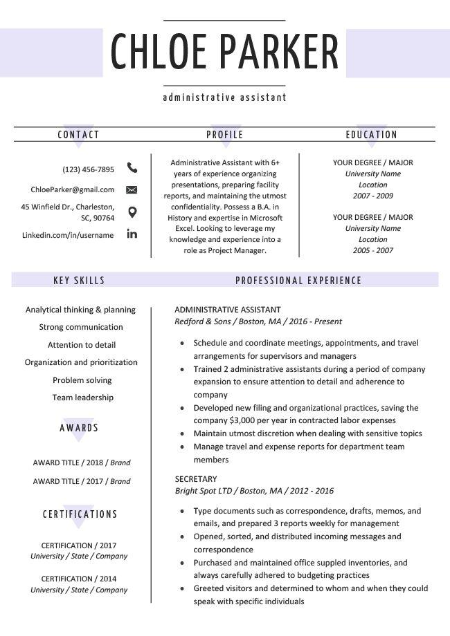 Free Creative Resume Templates Downloads Resume Genius Pendidikan