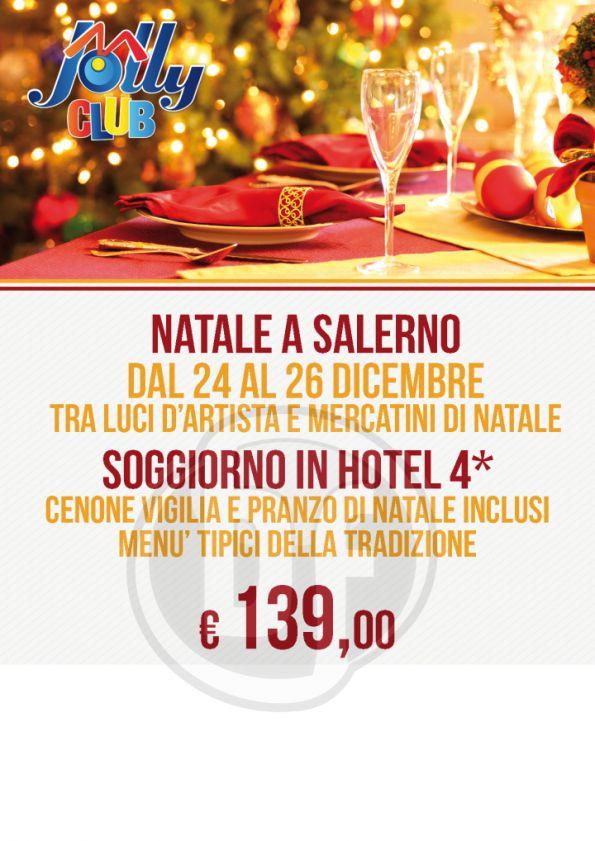 Per vivere momenti unici, con sfondi fatati, luci e mercatini scegli Salerno per un felice natale!