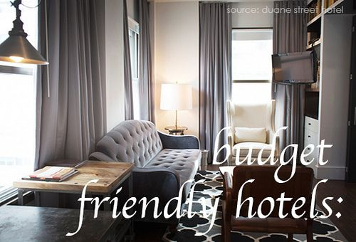 Budget Friendly Hotels by youngjf4, via Flickr