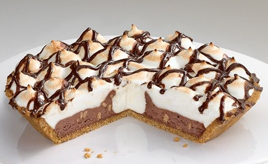 Edwards Smores Cream Pie from BZZAGENT! So good! #OwnTheOccasion #GotItFree @edwardsdesserts
