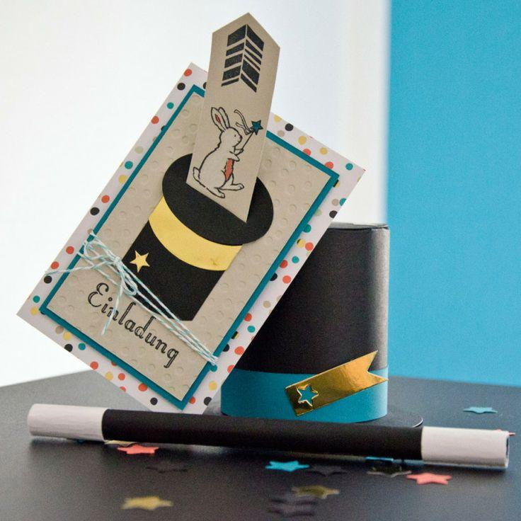 Zauberparty Kindergeburtstag Stampin UP!