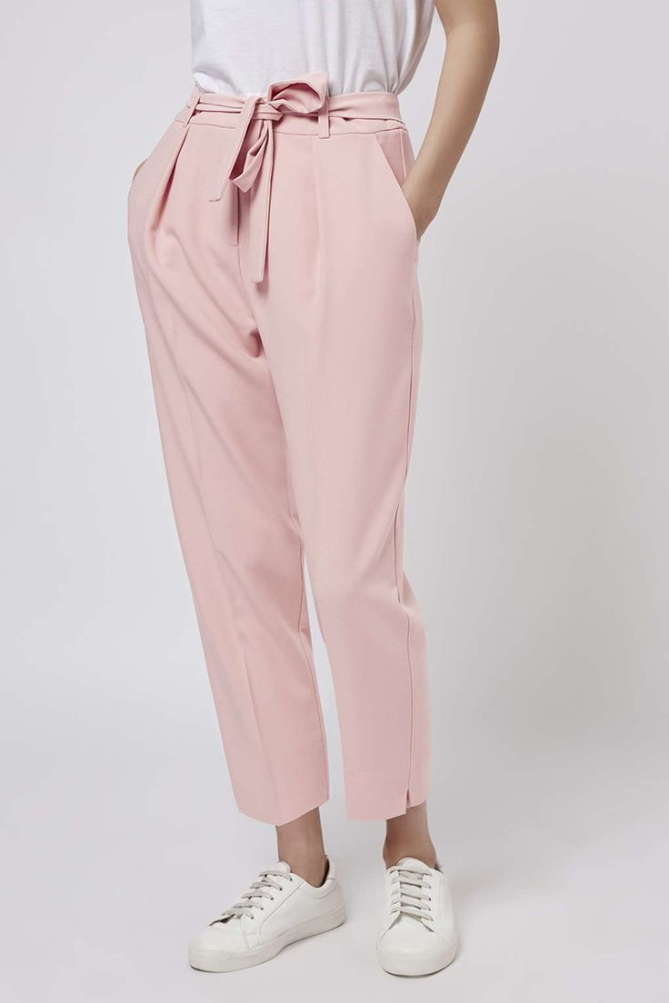 Photo 3 of PETITE Peg Belted Trousers