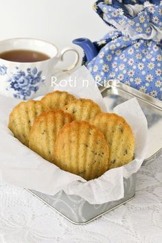 Lavender Madeleines – a Guest Post and Light It Up Blue « Roti n Rice
