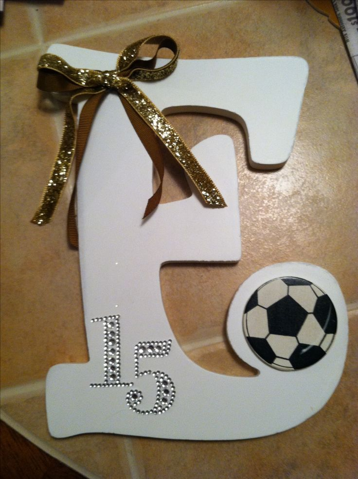 8th grade night- I made these for the 8th graders in my daughter's soccer team and they all loved them!