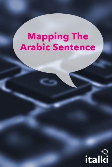 Mapping The Arabic Sentence - Arabic is quite easy and flexible if you know and are able to master Arabic sentences and the Arabic system of putting words together to form a sentence. That's what this article is about. #article #arabic