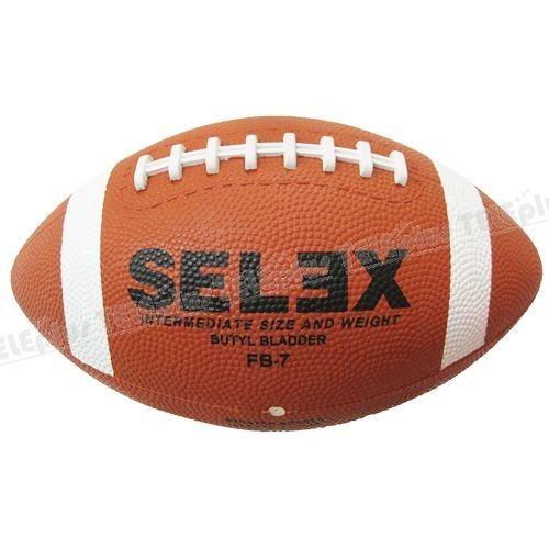 Selex FB-7 Mini Amerikan Futbolu Topu 7 no - Kauçuk  391 gr  1 adet Amerikan futbolu topu  Satın alacağınız topların sibobunuvazelinile kayganlaştırarak ve mutlakatop iğnesikullanarak şişiriniz.  Topu kullanmadan şişik vaziyette 24 saat bekletiniz.  Sibobundan iğne girmeyen veya 24 saat içinde inen topları iade edebilirsiniz.  Sibobun iğne kullanılmadan zorlanma sonucu kayması, topun içine düşmesi gibi durumlarda topun değişimi veya iadesi mümkün değildir. - Price : TL35.00. Buy now at…