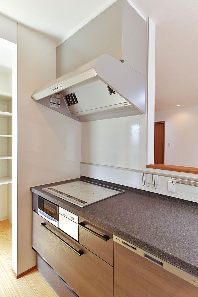 キッチン 家事をよく考えた家 いえものがたり 人工大理石 キッチン キッチン 注文住宅