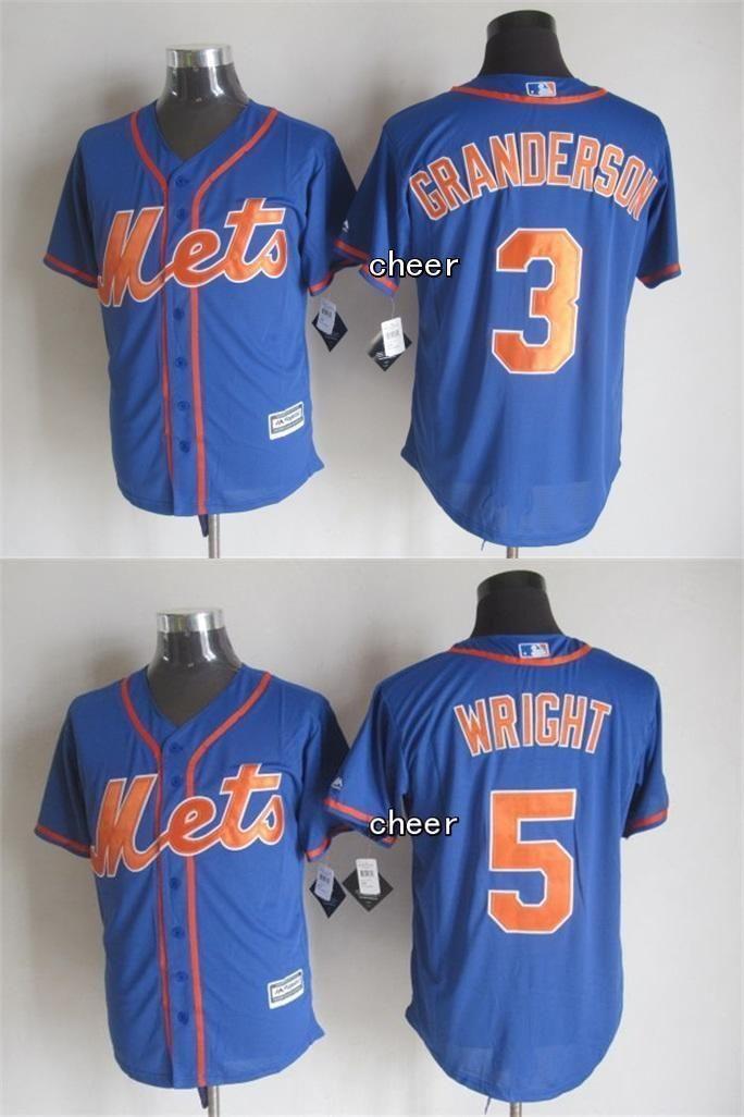 31f875d20b2 mlb jerseys new york mets 5 david wright blue cool base signed mlb ...