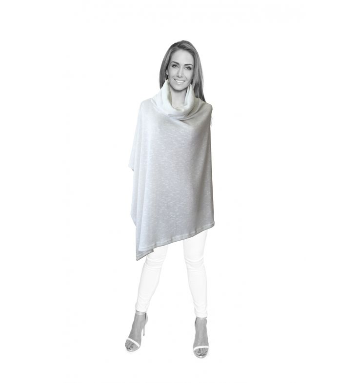 LIMITED EDITION White Cowl Neck Wrap