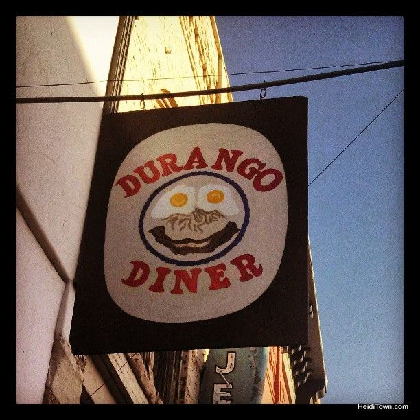 One of the most recommended restaurants in @Durango, @Colorado. We had to go! #diner http://www.heiditown.com/2013/05/29/do-durango-part-2-eat-good-food/