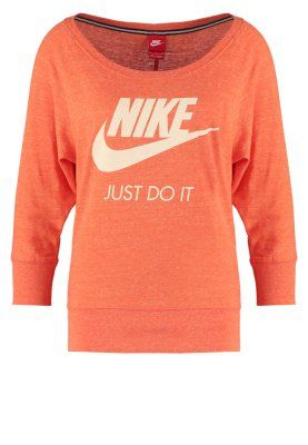 GYM VINTAGE - Langærmede T-shirts - electro orange/sail