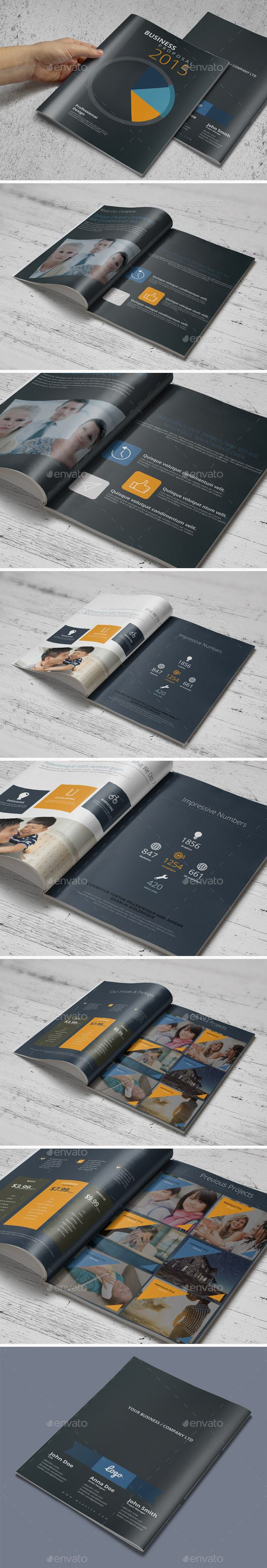 construction proposal templates%0A Business Proposal Template