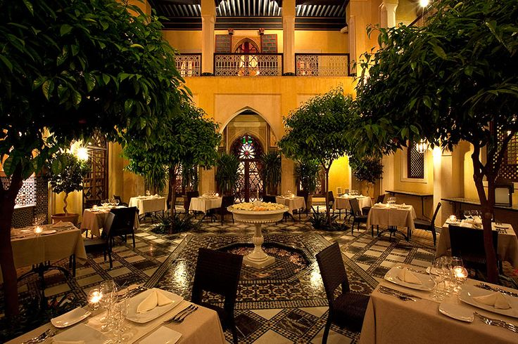 Morrocan or Italian dinner?   PEPE NERO - Marrakech Italian Restaurant!