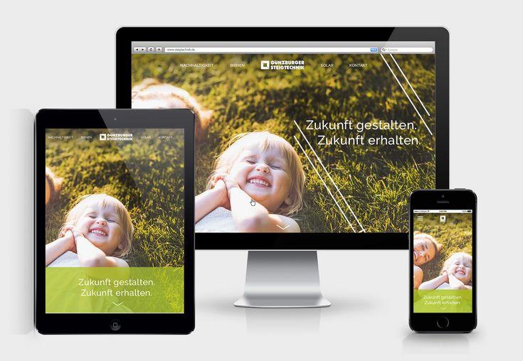 Sustainability at Steigtechnik GmbH – Responsive Website
