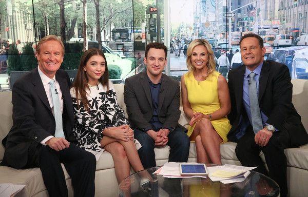 Rowan Blanchard Photos - Ben Savage And Rowan Blanchard Visit 'FOX & Friends' `tls