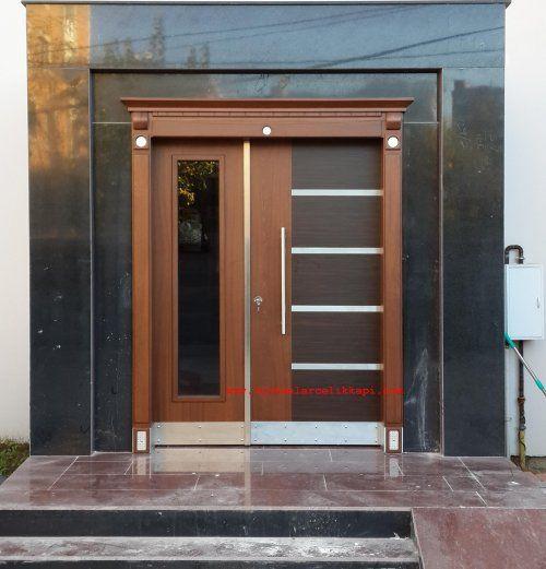 Dışarı Açılan Apartman Giriş kapısı