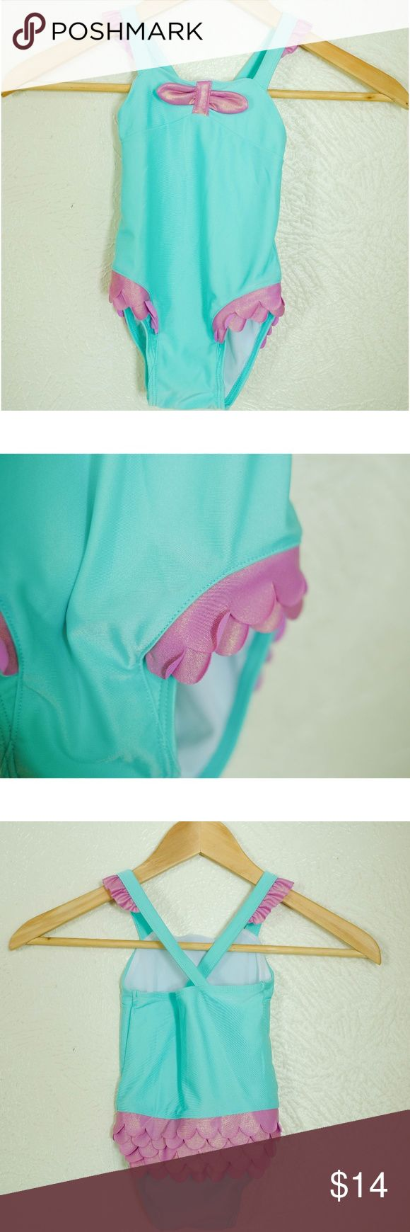 Mermaid one piece swimsuit Cat & Jack 18 month Mermaid one piece swimsuit. Strap…