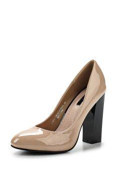 Туфли LOST INK, цвет: коричневый. Артикул: LO019AWEFJ71. Женская обувь / Туфли / Туфли на каблуке