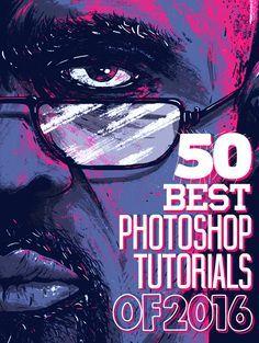 50 Best Adobe Photoshop Tutorials of 2016