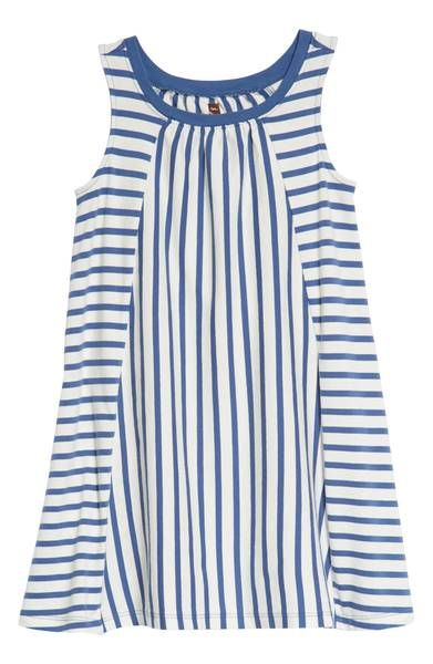 dd1954d12f4 The perfect summer dress! Tea Collection Stripe Trapeze Dress (Toddler  Girls