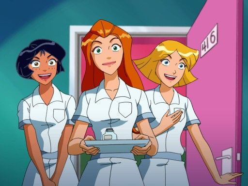 Alex sam clover totally spies totally spies pinterest totally spies alex o - Clover totally spies ...