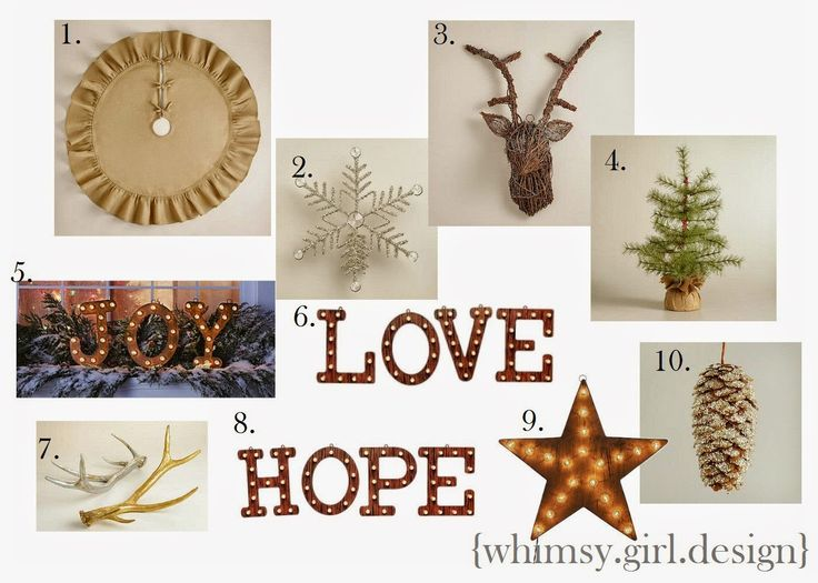 Whimsy Girl Have Yourself A Very Quot Rustic Quot Christmas