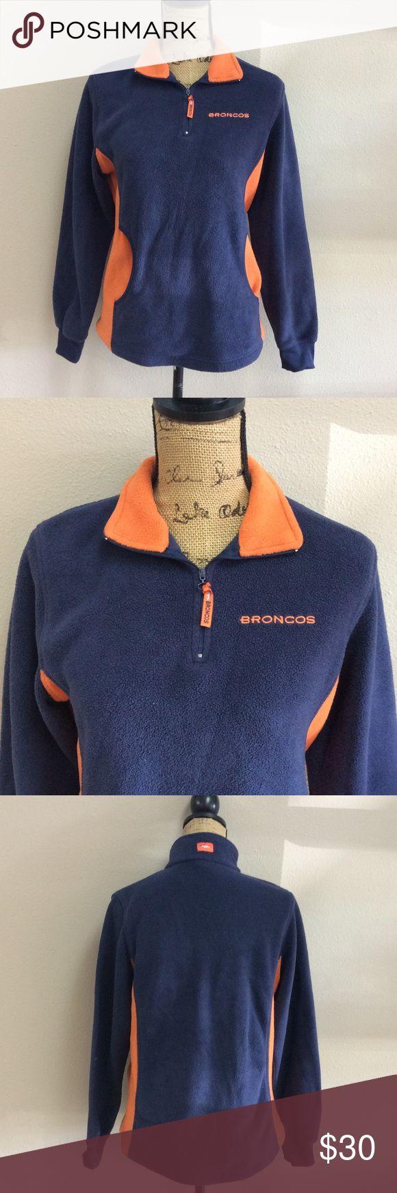 "NFL Bronco Fleece Dimensions: 28"", bust 36"" NFL Sweaters"