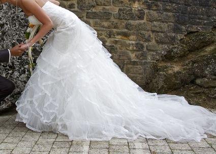 Trouvez votre robe de mariée parmi les sélections de Mariage à la Lettre  http://www.mariage-a-la-lettre.com/  Robe de mariée Pronovias - San Patrick