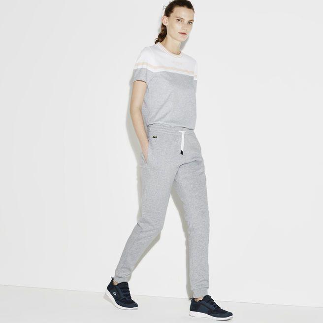 Pantalon de survêtement Lacoste SPORT en molleton gratté