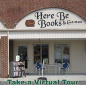 Here Be Books & Games, used bookstore and game store in Summerville, SC